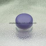 Il piccolo vaso di plastica libero/mini casella cosmetica di plastica libera di imballaggio di plastica del vaso della crema di fronte con la protezione molti gradua disponibile secondo la misura