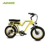 China barata 36V 10Ah adulto de la rueda de 20 pulgadas mini Fat Ebike eléctrico para la venta de neumáticos