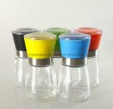 Farbige Schleifer-Tausendstel des Gewürz-150ml mit Glasflasche, farbiger Schleifer