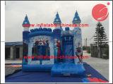 2018 Saltos Congelados Bouncer castelo inflável com deslize (T3-119*)