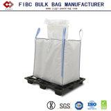 Plastique blanc PP tissés FIBC super sac sac d'emballage