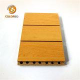 Kategorie, die eine Feuer-Nennlärmkontrolle-hölzerne Bauholz-Akustik täfelt