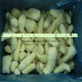 Commerce de gros surgelés IQF pelées coupées en dés de tranches de purée de gingembre haché en carton de 10 kg avec un bon prix