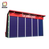 Estación de autobuses, parada de autobús Bus Solar LED Display Advertising