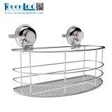 Salle de bains avec douche de la Coupe du panier d'aspiration d'accessoires de rack avec grille en acier inoxydable 304