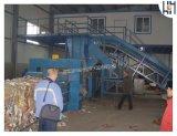 Гидравлический горизонтальный полностью автоматическая бумажных отходов картона пластмассовые пресс для переработки
