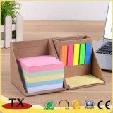 Les articles de papeterie coloré Porte-stylet de fournitures de bureau cadeau promotionnel Note adhésive
