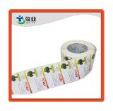 Элегантный высококачественный бумажную наклейку/индивидуальную подпись в рулон