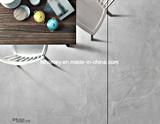 光沢のある灰色の建築材料は磁器によって艶をかけられた陶磁器の壁および床タイルを磨いた