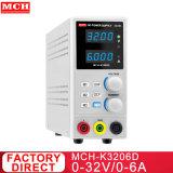 192W 32V 6d'un interrupteur DC alimentation stabilisée de stockage avec 3 ensembles de contrôle de sortie de la protection de l'OCP OCP K3206D