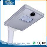 IP65 8W Bridgelux LED solar integrada en el exterior de la luz de la calle