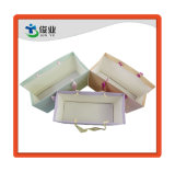 Regalo de alta calidad elegante bolso de mano/bolsa de papel recubierto de una impresión personalizada