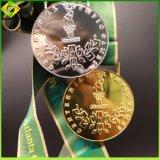 Métal personnalisée en usine de gros de l'honneur de l'émail doux de l'exécution Marathon médailles