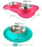 Оптовая торговля индивидуальные силиконового герметика Пэт чашу транспортера/коврик для щенка и Cat