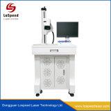 De Machine van de Gravure van de laser voor Mariene Industrie die het Systeem van de Teller van de Laser van de Vezel merken
