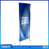 安いFoldable広告の表示はプリントポスター調節可能なX旗の立場を抜く