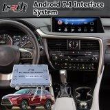 Android 7.1 автомобильный блок интерфейса системы навигации GPS для Lexus Nx / Rx / Es / - / CT / Lx / Ls мыши