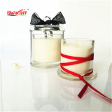 150g de Soja perfumada ecológicos velas na jarra de vidro de pintura