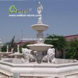 Скульптура мраморным фонтаном для сада украшения