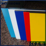 Haut du panneau composite en aluminium résistant aux chocs pour les matériaux de construction