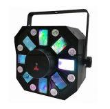LED de strobe Laser Flower 3 em 1 Efeitos de luz para iluminação de discoteca