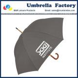 """Il tessuto di seta naturale grigio dell'ombrello della bolla con il marchio ha stampato 24 """""""