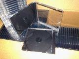 Caixa de CD 10.4mm Praça Única com boa qualidade de bandeja preta