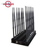 42W 4G 3G de Stoorzender van de Telefoon van de Cel van de Hoge Macht met KoelVentilator, de Stoorzender van het Alarm, Cellphone Stoorzender, WiFi, GPS, GSM Stoorzender