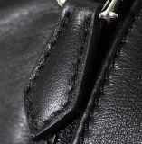 Backpack оптовой новой кожи черноты типа конструкции панковской напольный перемещая