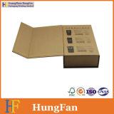 Rectángulo de regalo cómodo del embalaje del papel de Eco Kraft para los productos electrónicos