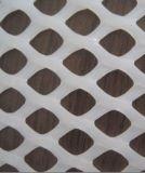 Réseau plat en plastique de HDPE pour la fabrication du maillage pour le climatiseur, de la compensation de base de route et de plus