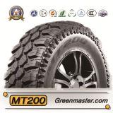 Neumático del vehículo de pasajeros, neumático de la polimerización en cadena con el certificado del neumático de Europa