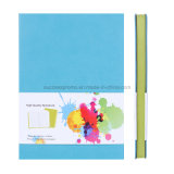 Het Notitieboekje Softcover van uitstekende kwaliteit met de Kanten van de Kleur