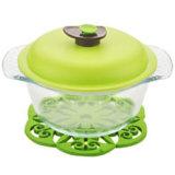 耐熱性高いホウケイ酸塩ガラスの鍋、Pyrexガラスの鍋