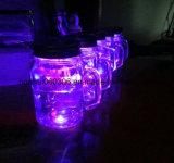 Taza de cristal con la maneta