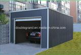 Garagem do carro da construção de aço/vertente claras de /Steel vertente do armazenamento