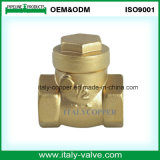 OEM и ODM качество латунные поддельных обратный клапан поворотного механизма (AV5005)