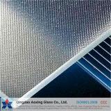 Painel solar temperado de vidro com baixo padrão de ferro para vidro solar / casa verde
