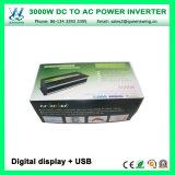 DC24V 3000W Car солнечной энергии с цифровым дисплеем (QW-M3000)
