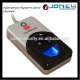 デジタル外的人格USBの512dpi解像度の生物測定の指紋のスキャンナー(uru4000)