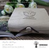 Hongdao Balsa Macaron embalaje caja de madera al por mayor