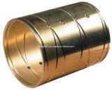 Bucha de bronze/personalizada do Cilindro Hidráulico de flange da bucha guia para haste/Fuso/Eixo