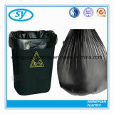 Sac d'ordures en plastique de tailles importantes matérielles de HDPE sur le roulis