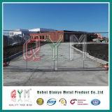 一時チェーン・リンクの塀によって電流を通されるチェーン・リンクフレームの管の塀
