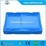 Contenedor plegable de plástico para almacenamiento