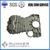 La lega di alluminio personalizzata la pressofusione della parte dell'alloggiamento del motore del motociclo con lavorare di precisione