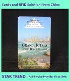 La carte-clé de l'hôtel avec la conception dépend de la nécessité