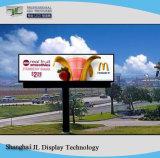Outdoor pleine couleur P8/P10 pour la publicité de panneaux à affichage LED