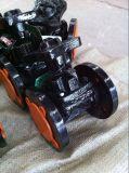 Valvola a diaframma d'acciaio della flangia del ghisa delle BS (reticolo del lavoriere)