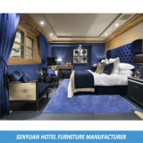 Удобная мягкая синий уникальный курортный отель спальня мебель (Си-BS116)
